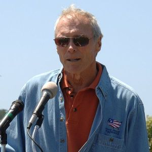 Take Pride Spokesman Clint Eastwood in Carmel River State Park, California in May 2005. Taken from an uncopyrighted image posted on the U.S. Department of the Interior's web site