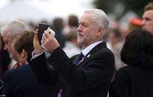 Corbyn chasing pokemon